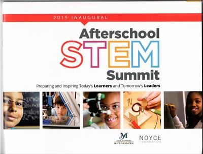 EAST and the Inaugural Afterschool STEM Summit