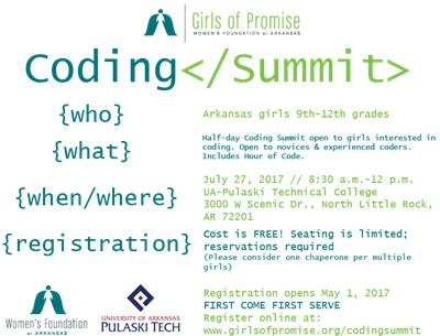 Coding Summit Registration Opens Soon